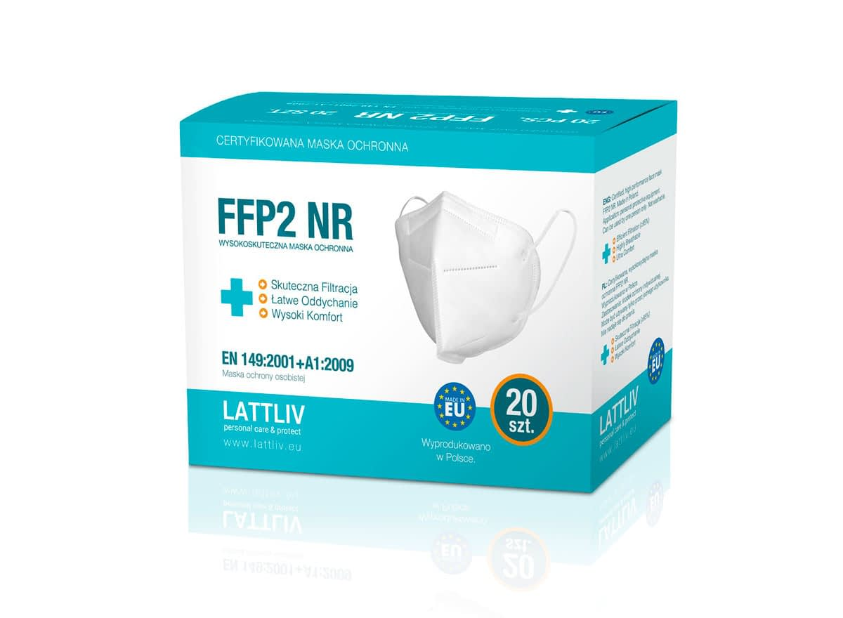 Lattliv FFP2 packaging