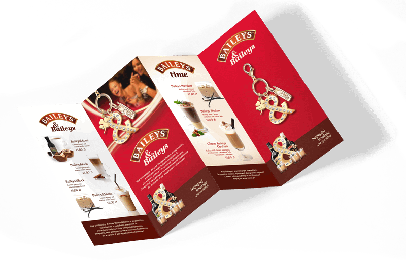 Strategie marketingowe Brandico - BAILEYS Brand Support